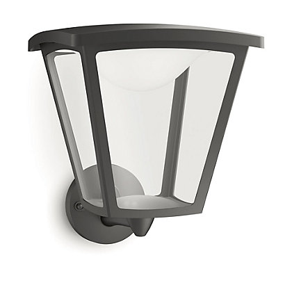 Image for Philips Cottage Wall Lantern - Black from StoreName