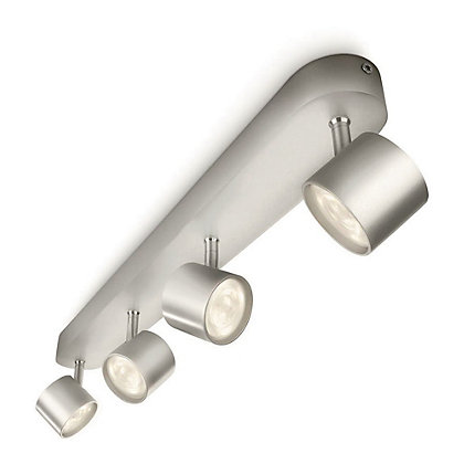 Image for Philips LED Star 4 Bar Light - Silver from StoreName