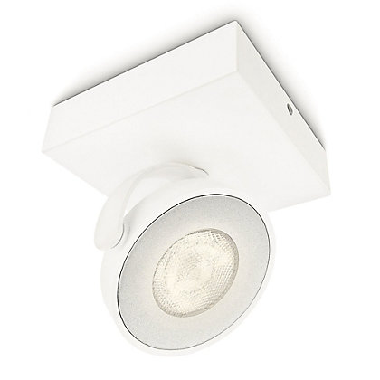 Image for Philips Myliving Clockwork Single LED Spotlight - White from StoreName
