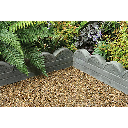Image for Stylish Stone Wave Top Edging 600mm - Antique from StoreName