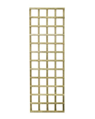 Forest Premium Wooden Trellis - 6x2ft