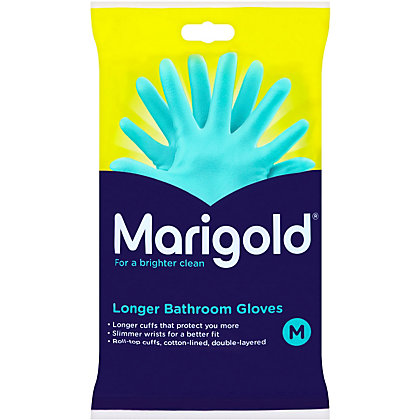 Image for Marigold Bathroom Long Cuff Gloves  - Medium from StoreName