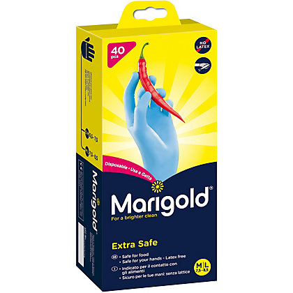Image for Marigold Disposable Nitrile Gloves - Pack Of 40 from StoreName