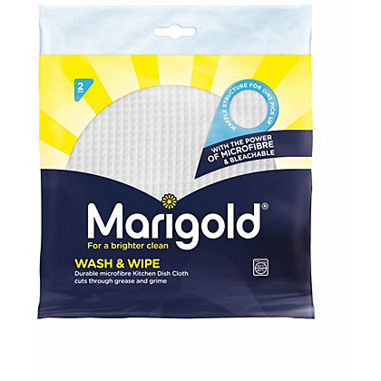 Image for Marigold Wash&Wipe MFKnitted Cloths - Pack of 2 from StoreName