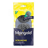 Marigold Scrunchie Metallic Scourers - Pack of 3