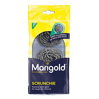 Image for Marigold Scrunchie Metallic Scourers - Pack of 3 from StoreName