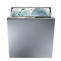 CDA WC140 Integrated Dishwasher - Silver