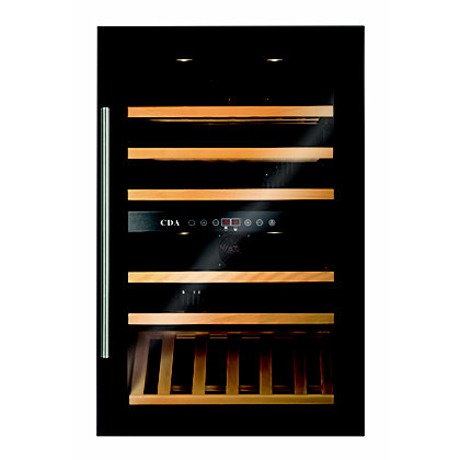 Image for CDA FWV901BL Dual Zone Wine Cooler - 90cm from StoreName