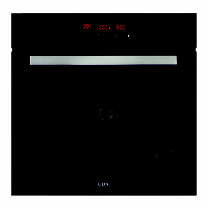 Image for CDA SK510BL 11 Function Pyrolytic Oven - Black from StoreName
