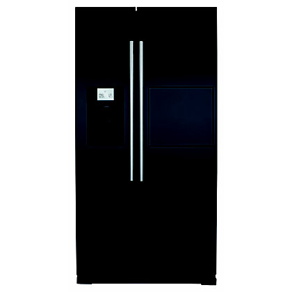 Image for CDA PC71BL Side by Side Fridge Freezer with Homebar from StoreName