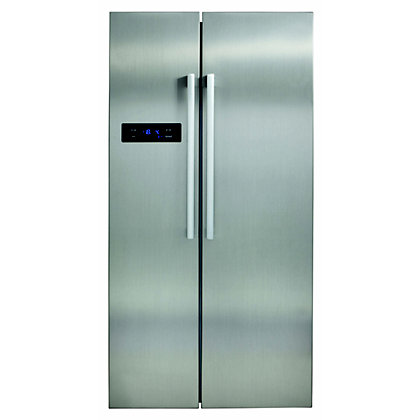 Image for CDA PC51SC American Style Fridge Freezer - Stainless Steel from StoreName
