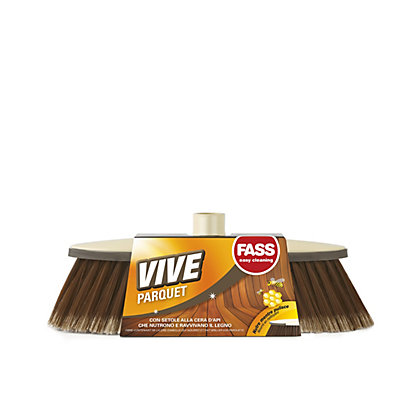 Image for Vive Parquet Broom with Handle from StoreName