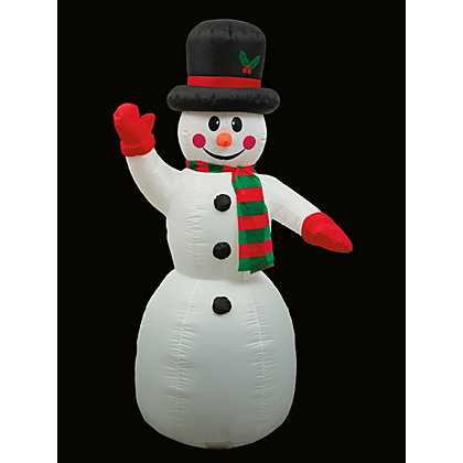 Image for Inflatable Snowman from StoreName