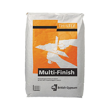 Image for Thistle MultiFinish Plaster 25KG from StoreName