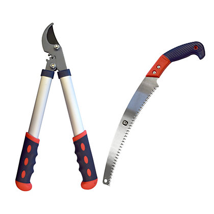 Image for Spear & Jackson Geared Lopper and Advanced Saw from StoreName