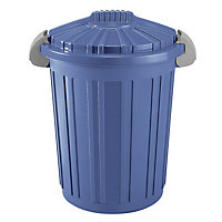 46 Litre Rubbish Bin - Blue