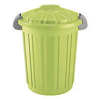 46 litre Rubbish Bin - Green