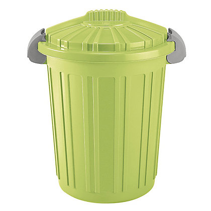 Image for 46 litre Rubbish Bin - Green from StoreName