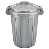 Outstanding Garden Composters Compost Bins Incinerators At Homebase With Heavenly  Litre Rubbish Bin  Silver With Delightful Oriental Garden Caldicot Also Large Garden Planters Cheap In Addition Gardening Shops And Gardening Jobs In Hertfordshire As Well As Gardeners Shed Additionally Garden Sheds Nottingham From Homebasecouk With   Heavenly Garden Composters Compost Bins Incinerators At Homebase With Delightful  Litre Rubbish Bin  Silver And Outstanding Oriental Garden Caldicot Also Large Garden Planters Cheap In Addition Gardening Shops From Homebasecouk