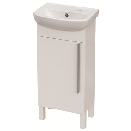 Image for Estilo Louis 40 Vanity White Unit & Basin from StoreName