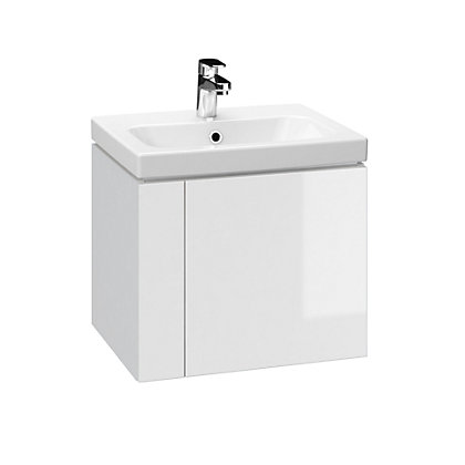 Image for Mondella Mardel 50 Vanity White Unit & Basin from StoreName