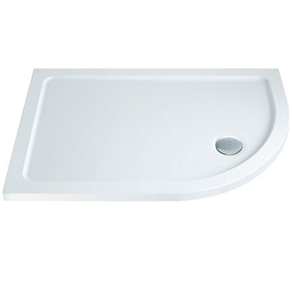 Image for Offset Right Hand Quadrant Shower Tray- 1200 x 900mm from StoreName
