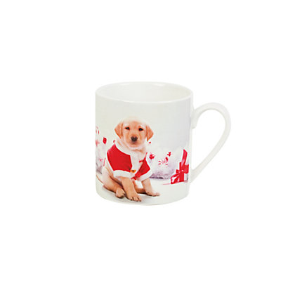 Image for Puppy Mug Coaster & Tray from StoreName