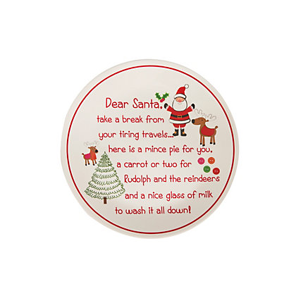 Image for Cookies For Santa Plate from StoreName