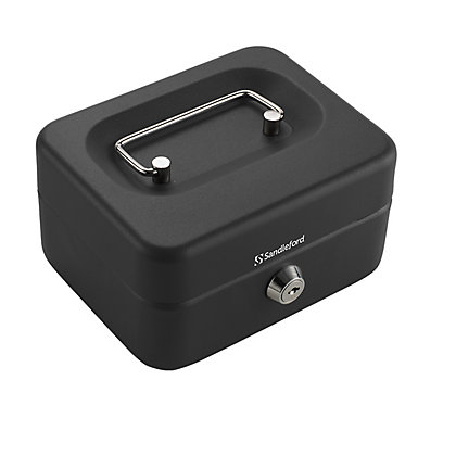 Image for Sandleford Cash Box - Black - 80 x 150 x 120mm from StoreName