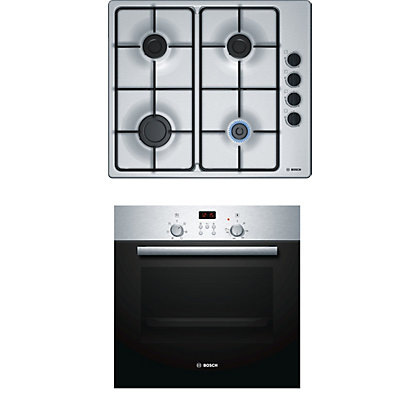 Image for Bosch Single Oven and Gas Hob Pack from StoreName