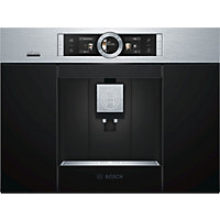 Bosch CTL636ES6 Built-in Coffee Machine - Home Connect