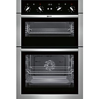Neff U14M42N5GB Classic Double Oven - Stainless Steel