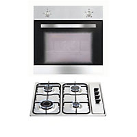 Matrix Fan Oven and Gas Hob Pack