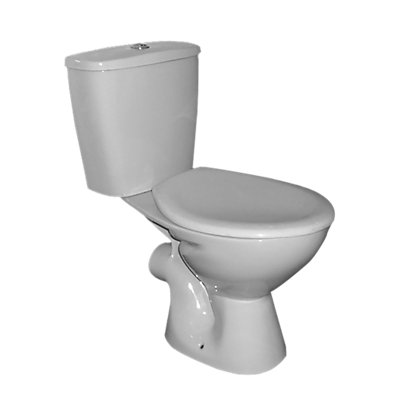 Image for Estilo White Toilet - Takeaway from StoreName