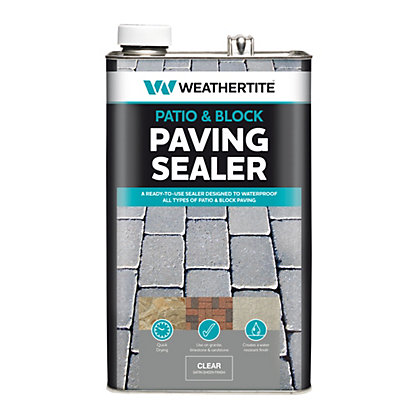 Image for Weathertite Patio & Block Paving Seal -  5L from StoreName