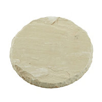 Natural Stepping Stone 300mm - Weathered Buff