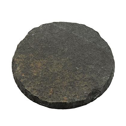 Image for Natural Stepping Stone 300mm - Charcoal from StoreName