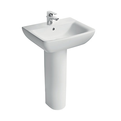 Image for Armitage Shanks Sandringham 51 Basin & Pedestal Package from StoreName