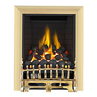 Wareham Brass Full Depth Radiant Gas Fire