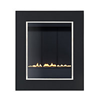Penzance P23 Flueless - Black Gas Fire