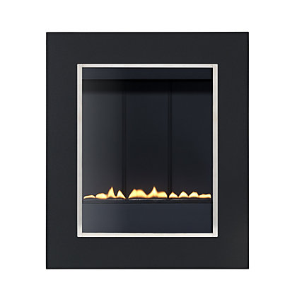Image for Penzance P23 Flueless - Black Gas Fire from StoreName