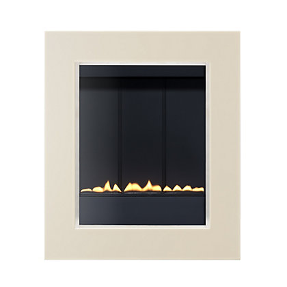Image for Penzance P23 Flueless - White Gas Fire from StoreName