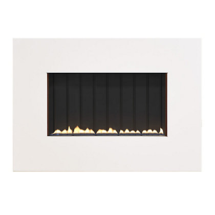 Image for Lymington Grand L30 Flueless - White Gas Fire from StoreName