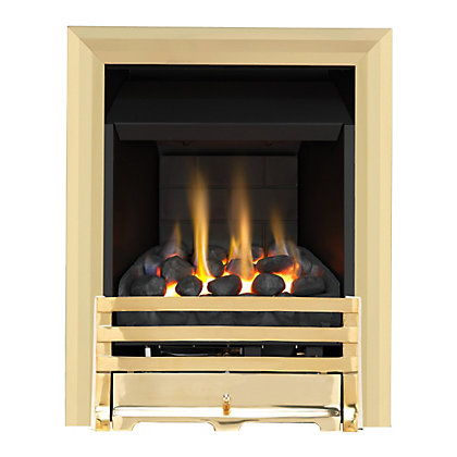 Image for Grange Brass Slimline Convector Gas Fire from StoreName