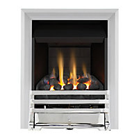 Grange Chrome Slimline Convector Gas Fire