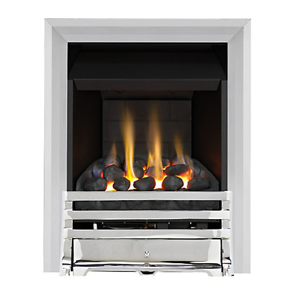 Image for Grange Chrome Slimline Convector Gas Fire from StoreName