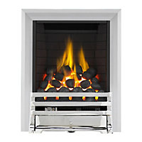 Grange Chrome Full Depth Radiant Gas Fire