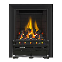 Grange Black Full Depth Radiant Gas Fire