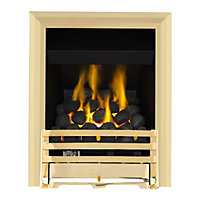 Grange Brass Full Depth Convector Gas Fire