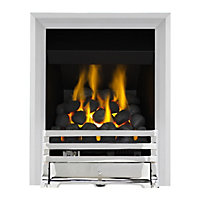 Grange Chrome Full Depth Convector Gas Fire